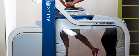 Running on Air! with AlterG